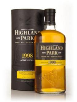 A bottle of Highland Park 1998 1l