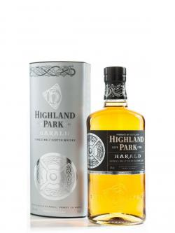 A bottle of Highland Park Harald