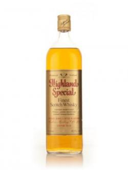 Highland Special Finest Scotch Whisky - 1970s