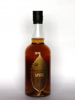 A photo of the frontal side of a bottle of Ichiro's Malt Mizunara Wood Reserve