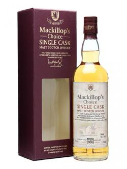 A bottle of Imperial 1990 / 19 Years Old / Cask #11966 / Mackillop's Speyside Whisky