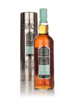 A bottle of Isle of Arran 12 Year Old 1996 (Murray McDavid)