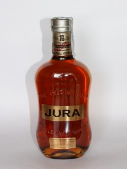 Isle of Jura 16 year Front side