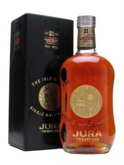 Isle of Jura 21 Year Old Island Single Malt Scotch Whisky