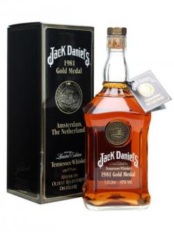 Jack Daniel's 1981 Gold Medal Tennessee Whisky