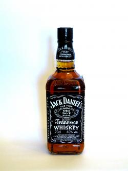 Jack Daniel's Tennesse Whiskey Front side