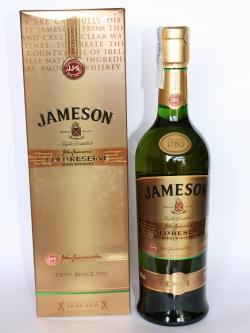 A bottle of Jameson Gold Reserve