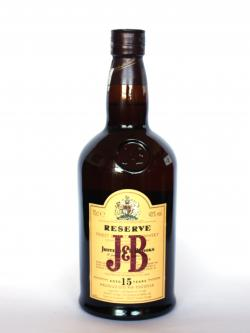 J&B Reserve 15 year Front side