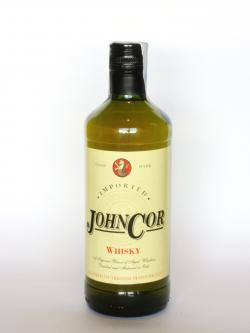 A photo of the frontal side of a bottle of John Cor