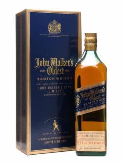 Buy John Walker S Oldest 15 Year Old 60 Year Old