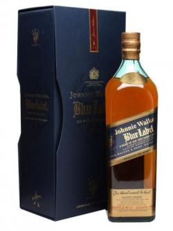 Johnnie Walker Blue Label / Old Presentation / Litre Bottle Blended Whisky