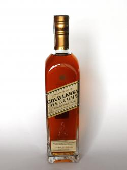 A photo of the frontal side of a bottle of Johnnie Walker Gold Label Reserve Blended Scotch Whisky