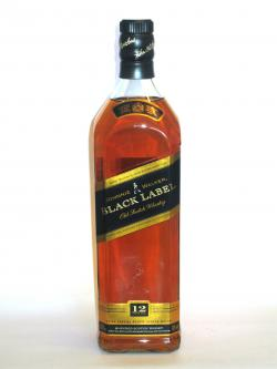 Johnnie Walker's Black Label Front side