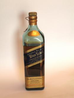 Johnnie Walker's Blue Label Front side