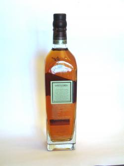 Johnnie Walker's Gold Label Back side