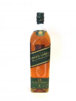 Johnnie Walker's Green Label Front side