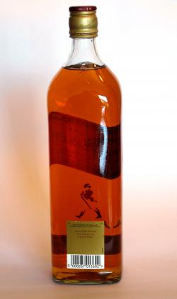Johnnie Walker's Red Label Back side