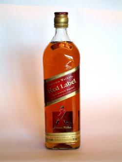 Johnnie Walker's Red Label Front side