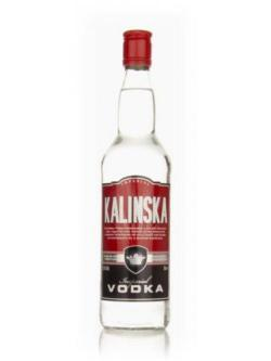 A bottle of Kalinska Imperial Vodka