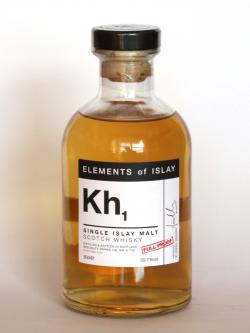 A photo of the frontal side of a bottle of Kh1
