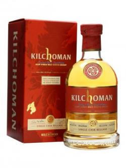 A bottle of Kilchoman 2008 / Bourbon Cask for The Whisky Show 2013 Islay Whisky