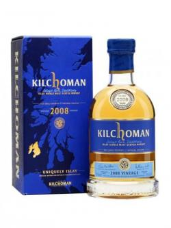 Kilchoman 2008 Vintage / 7 Year Old Islay Single Malt Scotch Whisky