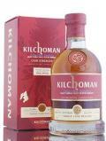 A bottle of Kilchoman 2009 PX Finish Single Cask / AW Exclusive
