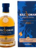 A bottle of Kilchoman Futures 2006 Vintage