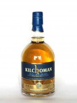 Kilchoman Inaugural Release 3 year Front side