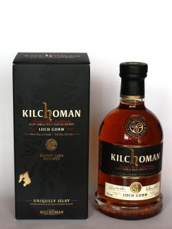 A bottle of Kilchoman Loch Gorm