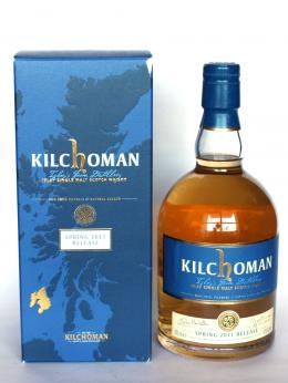 a bottle of Kilchoman Spring 2011