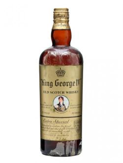 King George IV / Spring Cap / Bot.1950s Blended Scotch Whisk