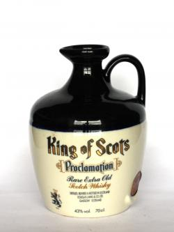 King of Scots Proclamation Front side