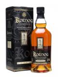 A bottle of Kornog Taouarc'h Pevared / Sauternes Casks / Peated Malt French Whisky