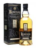 A bottle of Kornog Taouarc'h Trived / Bourbon Casks / Peated Malt French Whisky