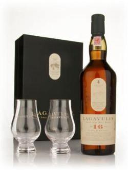 Lagavulin 16 Year old with 2 Glasses