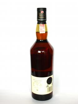 Lagavulin 1991 Distillers Edition Back side