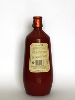 Lancers Rose Wine Back side