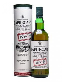 Laphroaig 10 Year Old Cask Strength / Batch 003 / Bot.2011 Islay Whisky