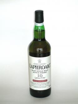 Laphroaig 10 year Original Cask Strength Front side