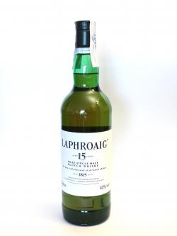 Laphroaig 15 year Front side