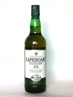 Laphroaig 18 year Front side