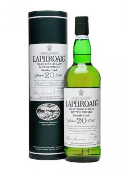 Laphroaig 20 Year Old Double Cask / Travel Retail Islay Whis