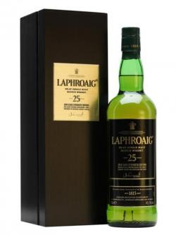 Laphroaig 25 Year Old / Cask Strength / Bot.2014 Islay Whisky