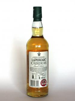 Laphroaig Cairdeas Ileach Edition Back side