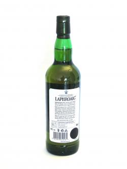 Laphroaig Quarter Cask Back side