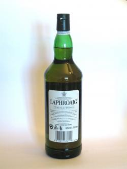 Laphroaig Triple wood Back side