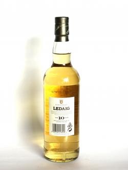 Ledaig 10 year Back side
