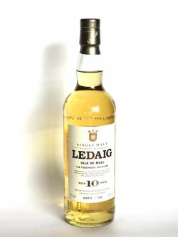 Ledaig 10 year Front side