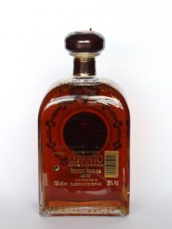 Lepanto Brandy Back side